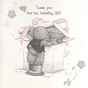 Wedding Gift Thank You Cards Pack : Pack of 10 Me To You Wedding Gift Thank You Cards: Amazon.co.uk ...