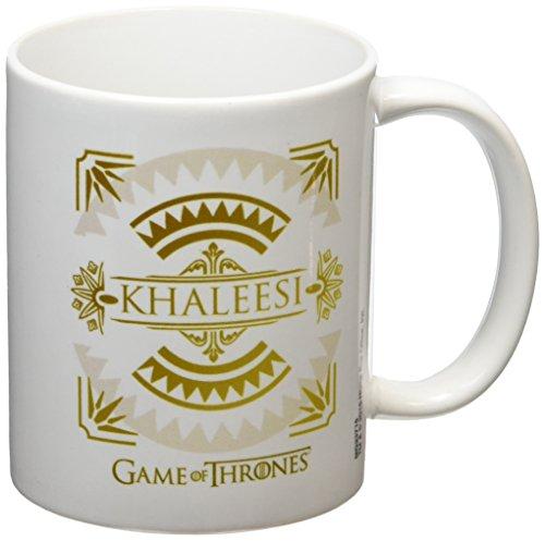 Game of Thrones-Khaleesi-Tazza in ceramica, multicolore