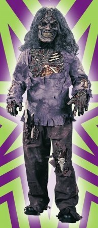 Costumes For All Occasions Fw8789Lg Zombie Complete Child Large