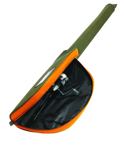 Allen company spinning rod case for up to 9 feet two piece for Fishing rod cases