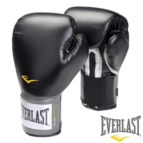 Everlast Men's Boxing Sparring Glove - Black/Grey, 12oz