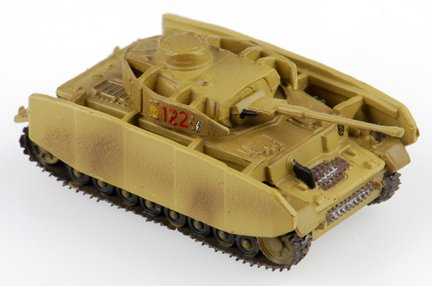 1:144 Scale WWII Tank: Panzer IV Ausf. H - 1