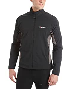 Berghaus Selway Soft Shell Jacket Men's Wind Resistant - Black, Large