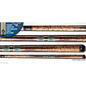 Viking V174K 20 oz. Billiard cue pool stick NEW ViKORE low deflection shaft from Dart... by Dart Brokers