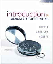 Introduction to Managerial Accounting by Peter Brewer