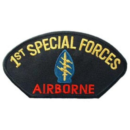1st Special Forces Airborne Hat Patch 2 3/4