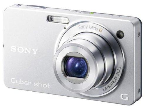 SONY デジタルカメラ Cybershot WX1 (1020万画素/光学x5/デジタルx10/シルバー) DSC-WX1/S