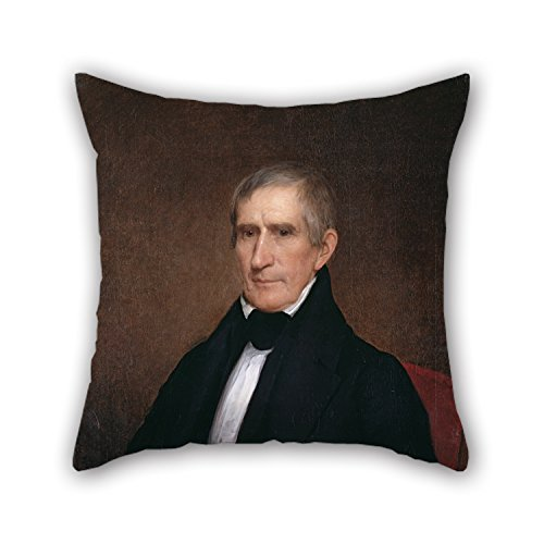 Uloveme The Oil Painting Albert Gallatin Hoit - William Henry Harrison Pillow Covers Of ,18 X 18 Inches / 45