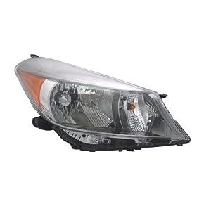 Amazon.com: TYC 20-9271-90 Toyota Yaris Right Replacement Head Lamp