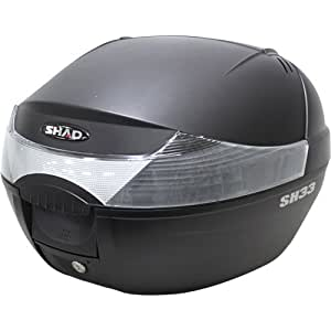 SHAD(シャッド) SH33 トップケース ブラック 33L 無塗装ブラック