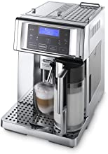 DeLonghi ESAM 6750 Kaffee-Vollautomat PrimaDonna Avant Chrome Line (1.8 l, 15 bar, Milchbehälter)