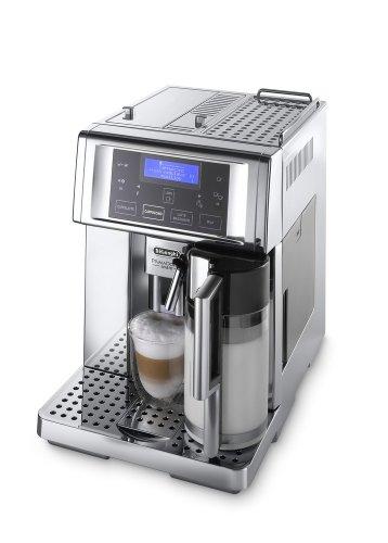 DeLonghi ESAM 6750 Kaffee-Vollautomat PrimaDonna Avant Chrome Line (1.8 Liter, 15 bar, Milchbehälter) thumbnail