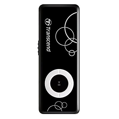 Transcend TS8GMP300K 0p3 8gb Mp300 Mp3 Player With Usb Flash Drive Black