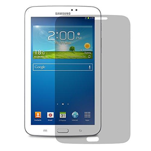 1x Alaskaprint Displayschutzfolie Matte für SAMSUNG Galaxy Tab 3 7.0 SM-T210, Schutzfolie Matt Inkl. Microfaser-Putztuch