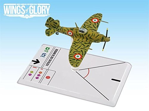 Ares Games Srl WGS104B Wings Of Glory - Wwii Reggiane Re.2001 Cn Falco II - Cerretani - 1