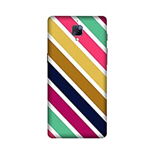 Aaranis designed OnePlus 3/ OnePlus 3T Mobile Backcover with perfect Matte Finishing Color pattern Patterns & Ethnic(Multicolor)