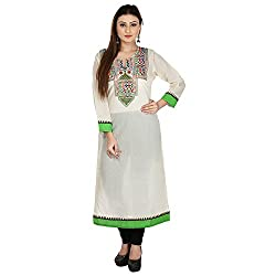 RD Traders Women's Cotton A Line Kurti