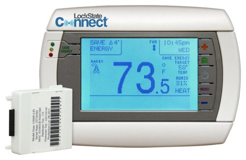 LockState Connect LS-90i WiFi Internet Programmable Thermostat