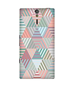 Abstract Pattern Sony Xperia S Case