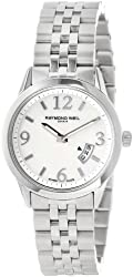 "Raymond Weil Women's 5670-ST-05907 ""Freelancer"" Stainless Steel Watch h"