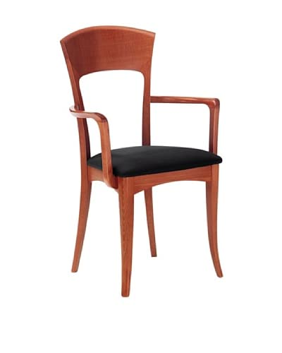 Domitalia Giusy Armchair, Light Cherry/Black