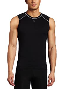 Pearl Izumi Herren Ärmelloses Unterhemd Transfer Lite Baselayer, Black, S, P3908