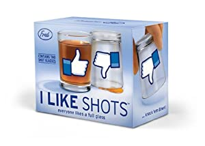I LIKE SHOTS Shotglasses - Set of 2