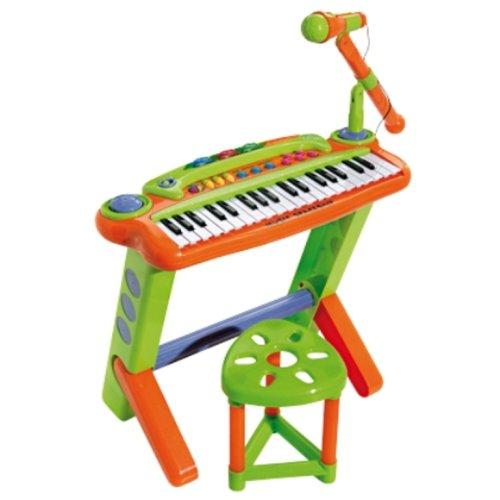 Logitoys - Instruments de musique - Orgue 37 touches + Tabouret