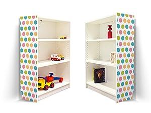yourdea kinderzimmer m bel klebefolie f r ikea billy. Black Bedroom Furniture Sets. Home Design Ideas