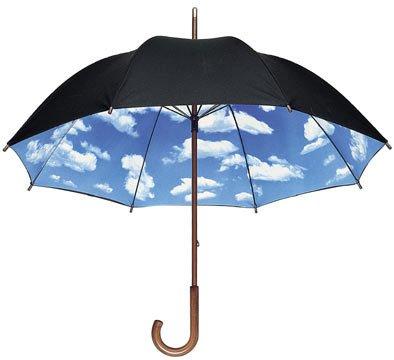 【MoMA】 Sky Stick Umbrella スカイアンブレラ 31587 長傘