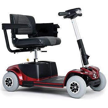Revo 4-Wheel Travel Mobility Scooter - Blue
