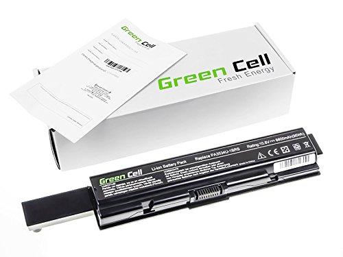 Green Cell® Extended Series Laptop Notebook Akku Batterie für Toshiba Satellite L500-208 (8800mAh)