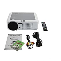 DBPOWER HD Ready LED Home Movie Projector USB HDMI 1080i/p PS3 Xbox PC 2000 lumens
