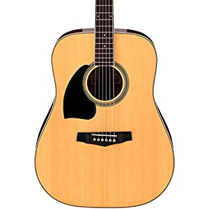 Ibanez PF15L   NT, 6  Strings Acoustic Guitar, Left Handed, Natural High Gloss, Rosewood Fretboard available at Amazon for Rs.10310