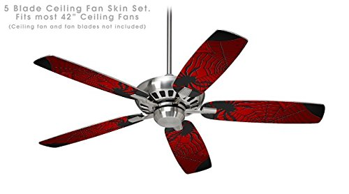 Spider Web - Ceiling Fan Skin Kit Fits Most 42 Inch Fans (Fan And Blades Sold Separately)