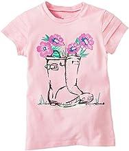 Baby Box Little Girls39 kids Toddler Short Sleeve T-Shirts