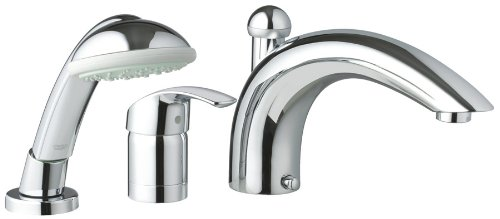 Roman Tub Faucet With Hand Shower 3 Hole.Grohe 32 644 001 Eurosmart Roman Tub Faucet With Personal