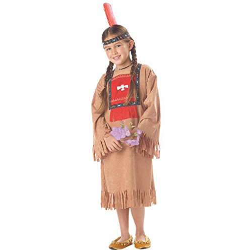Child's Running Brook Indian Girl Costume (Size: Medium 8-10)