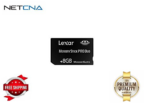 Lexar Platinum II - flash memory card - 8 GB - MS PRO DUO - By NETCNA (Lexar Platinum Ii 8 Gb Memory compare prices)