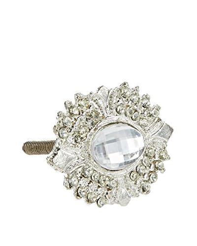A. Sanoma Inc. Majestic Knob, Clear/Silver