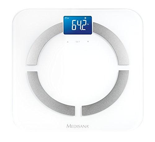 Medisana BS 430 connect - Báscula digital, color blanco