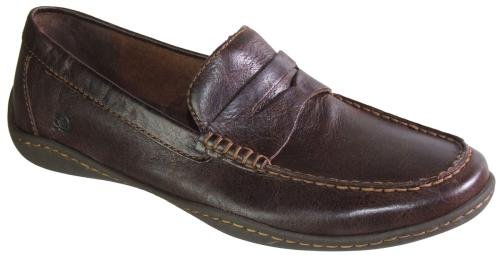 Men's Born, Simon leather penny loafer BROWN 8.5 M