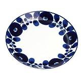 白山陶器 BLOOM ブルーム リース プレート(S) (φ16.5×2cm)