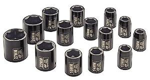 Ingersoll Rand SK4M14 1/2-Inch Drive 14-Piece Metric Standard Impact Socket Set by Ingersoll Rand