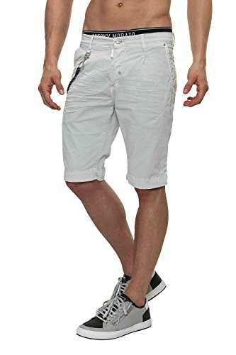 Antony Morato Pantaloncini da uomo Chino Shorts Ash (Col. 2041) W30