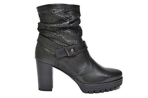 Nero Giardini Tronchetti scarpe donna nero 6433 A616433D 38