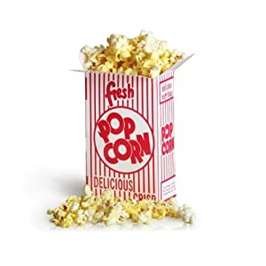 Great Northern Popcorn .75 oz Ounce Movie Theater Style Popcorn Boxes -50