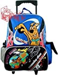 Back to School Saving - Scooby Doo Large Rolling Backpack, Size Approximately 16