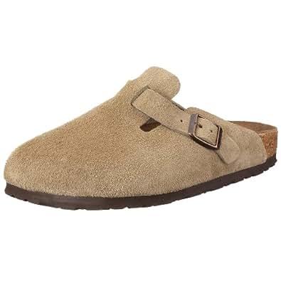 Birkenstock Boston 60461, Chaussures mixte adulte - Taupe, 35 (normal) EU