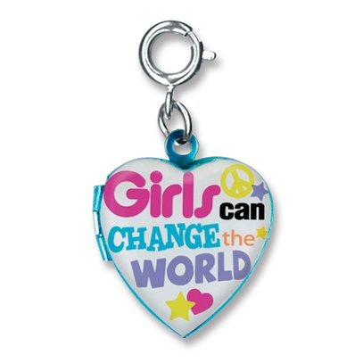 Charm It! Girls Can Change the World Charm Locket